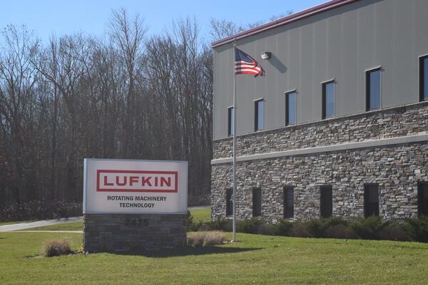 Lufkin manufacturing facility located in Wellsville, NY