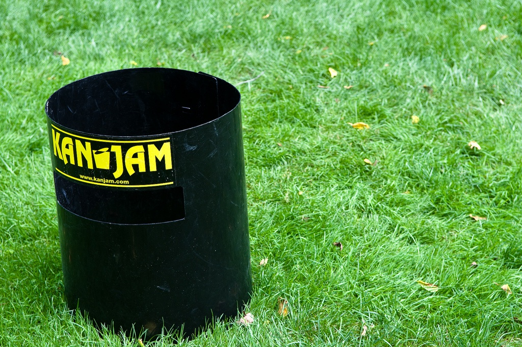 Kan Jam has come a long way from beat-up metal garbage cans.