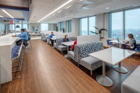 IBM cafeteria.
