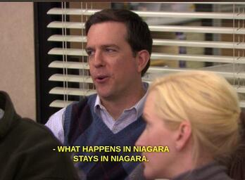 The Office gave the City of Niagara Falls some national attention.