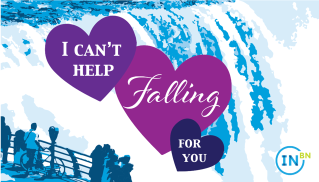 I can't help falling for you.