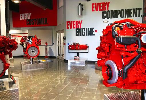 Cummins Engine Plant in Jamestown.