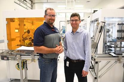 Ben Harp of Polymer Conversions and Alan Rosenhoch of InBN