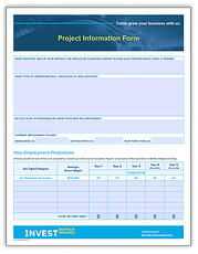 project info form